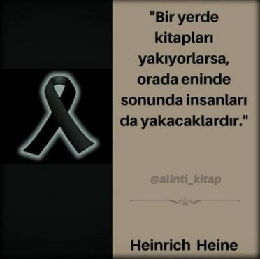 kitap alıntıları, kitap sözleri, Heinrich Heine