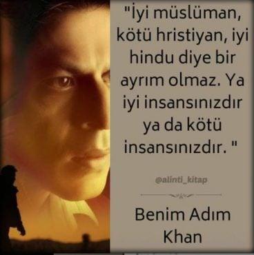 kitap alıntıları, kitap sözleri, benim adım khan