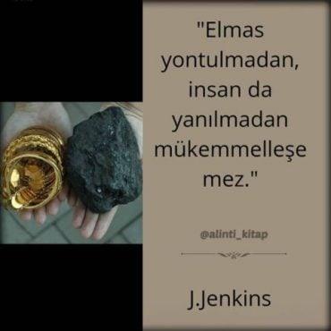 kitap alıntıları, kitap sözleri, James J. Jenkins