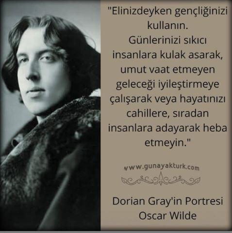 oscar wilde, cahil, insan figürü, günay aktürk, kitap alıntıları, kitap sözleri,